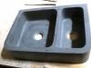 VS 70 zwart graniet gezoet maatv. 70/50/18cm