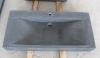 Serdon zwart graniet gezoet 100/50/10cm