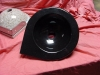Hoekbakje PR 300 zwart poly 32/37/11cm