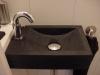 SER zwart graniet gezoet toiletbakje 40/26/10cm
