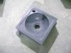 Vierkant toiletbakje