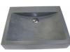 Serdon 50, Zwart graniet gezoet 50/40/10cm
